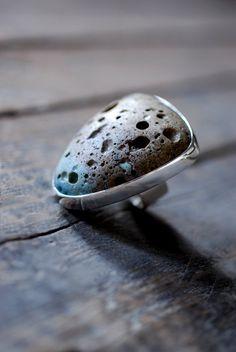 Moonwalk Ring by dollybirddesign on Etsy, $350.00