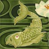 Gekozen omdat de vis ergens naar opkijkt
