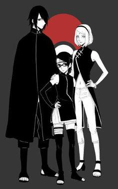 [Naruto] - The Scarlet Spring: Sarada Uchiha FC Anime Naruto, Hinata, Sasuke Sakura Sarada, Naruto Fan Art, Naruto Shippuden, Naruto Team 7, Naruto Family, Boruto Naruto Next Generations, Naruto Girls