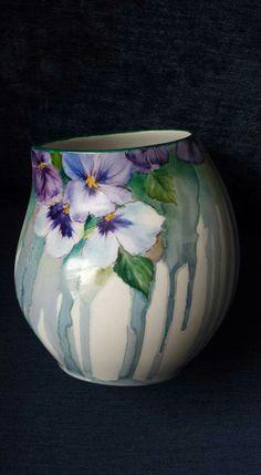 Pansy vase
