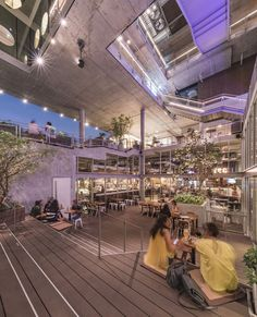Completed in 2016 in Bangkok, Thailand. Images by Ketsiree Wongwan / W Workspace. For Bangkok, or any other modern-day cosmopolitan cities, living conditions and spatial form continue to evolve. Retail Architecture, Commercial Architecture, Concept Architecture, Classical Architecture, Sustainable Architecture, Architecture Photo, Pavilion Architecture, Residential Architecture, Contemporary Architecture