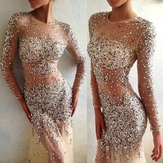 Glamorous evening dress. #glam