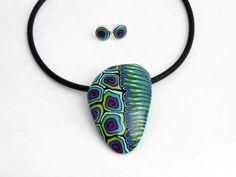 Statement Ketten - Statment Art Kette, Kunst aus Polymer clay - ein Designerstück von filigran-Design bei DaWanda