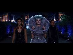 Effie escorts Katniss and Peeta to the party of the year! Watch the official second #CatchingFire clip!