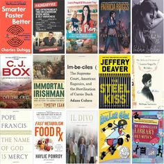 See what's new this week at the Muskegon Area District Library at:  *** http://wowbrary.org/nu.aspx?fb&p=5256-216 ***  There are 25 new bestsellers, four new audiobooks, 14 new music CDs, 69 new children's books, and 38 other new books.