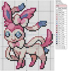 Sylveon by ~Makibird-Stitching on deviantART