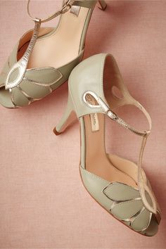 Mimosa T-Straps in Shoes & Accessories Shoes at BHLDN