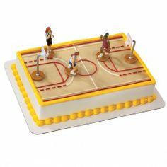 Chicago Basketball Court Cake Topper