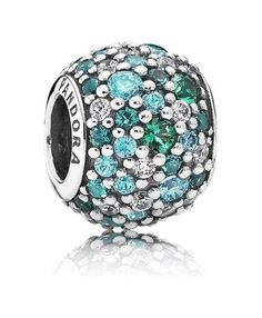 Pandora Ocean Mosaic Pave Ball Charm A gift for Mother 's Day.