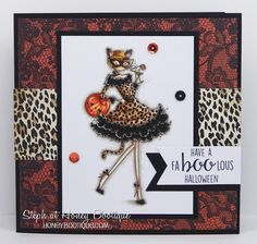 Stamping Bella Sneaky Peeks Day 3 continued- Uptownie Kitty Loves Halloween!