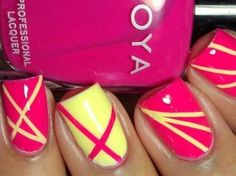 Cool Nail Design - Click image to find more nail art posts