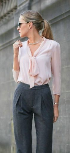 Professional work outfits for women ideas 89 #FashionTrendsWork