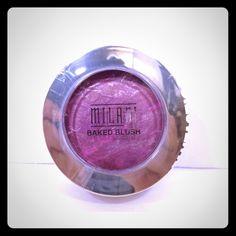 MILANI Baked Blush  NWT/ Milani Baked Blush  07 FANTASTICO MAUVE  Baked Powder Blush  Net Wt 0.12 oz  Made in Italy Milani Makeup Blush
