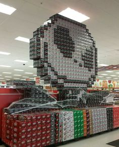 Jack Skellington Coca-Cola Can Display at Target for Halloween. Guerilla Marketing, Halloween Jack, Spirit Halloween, Halloween Ideas, Happy Halloween, Halloween Stuff, Halloween Images, Halloween Design, Disney Halloween