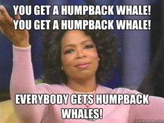 Oprah according to Dane Cook