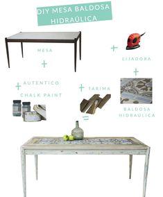 mesa de baldosa hidraulica