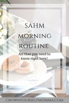 "Good morning momma! Hey there thank you for stopping by on ""when a SAHM blogs"". No"