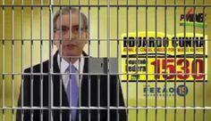 Eduardo Cunha é preso em Brasília e internet vai à loucura