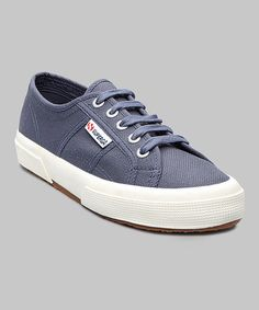 Take a look at this Blue Shadow 2750 Cotu Classic Sneaker - Women by Superga on #zulily today! $35 !!
