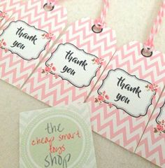 Personalised  Handmade tags Thank you tags Gift tags