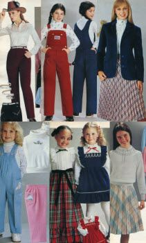 1981 Girls Clothes