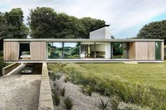 Two more finalists — a concrete bungalow and a zinc-clad farmstead — have been revealed for this year's RIBA House of the Year. Grand Designs Uk, Grand Designs Houses, Amazing Architecture, Contemporary Architecture, Sustainable Architecture, Pavilion Architecture, Japanese Architecture, Ancient Architecture, Residential Architecture