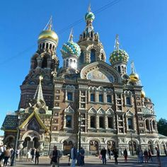 Church of the Savior on Blood, St Petetsburg, Russia Savior, Barcelona Cathedral, Castles, Russia, Blood, Saints, Homes, World, Building