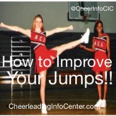 ❤️ if you want to improve your jumps Check out our website CheerleadingInfo… ❤️ if you want to improve your jumps Check out our website CheerleadingInfoC… for tons of tips and stretches to help you improve your jumps today! Cheer Tryouts, Cheer Coaches, Cheer Stunts, Cheer Dance, High School Cheer, College Cheer, Cheer Pictures, Cheer Pics, Softball Pics