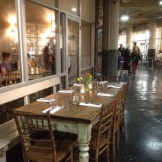 Dining at Chelsea market . So cool