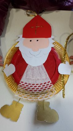 Preschool Christmas, Christmas Crafts For Kids, Crafts To Make, Arts And Crafts, St Nicholas Day, December Holidays, Angel And Devil, Paper Plate Crafts, Theme Noel