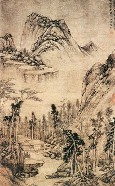 """thorsteinulf: """" Huang Gongwang - A Water House in Seclusion """""""