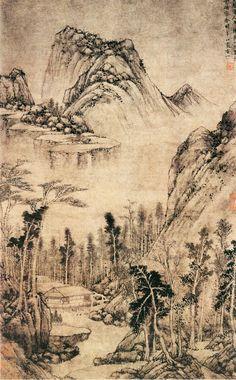 Хуан Gongwang: в воде дома в уединении | Китайская Живопись | Китай онлайн музей