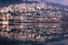Kastoria, Greece.  Where my Dad was born and Raised.