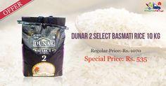 #Dunar 2 Select #Basmati #Rice 10 Kg @ Kiraanastore.