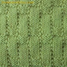 Easy knitting projects Corbel