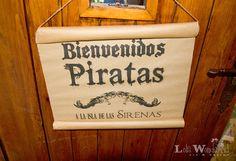 Lola Wonderful_Blog: Fiesta de Cumpleaños Piratas y Sirenas, personalizada para unas gemelas