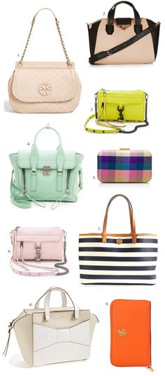 Spring Handbags… - Pink Peonies by Rach Parcell