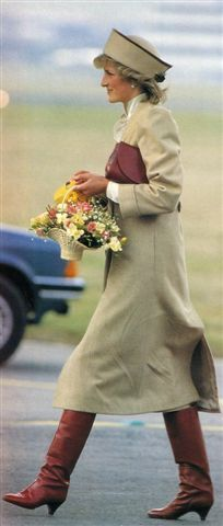 A lot of the clothes Diana wore, I find to be fashionable in this day and age. What do you think?