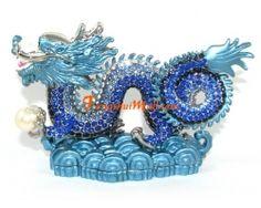 Bejeweled Blue Dragon :: Feng Shui Dragons