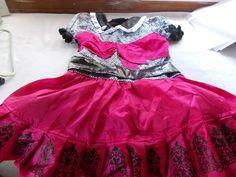 Monster High Draculaura Costume Dress Size 7 - 8 #Dress