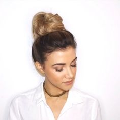 Twisted Topknot Tutorial  Don't forget to turn on notifications so you continue to get your daily @blohaute hair inspo