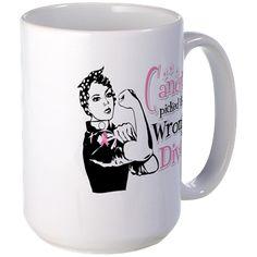 Wrong Diva Breast Cancer Mug
