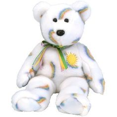 Ty Beanie Buddy Cheery The Sunshine Bear 14 Inch Childs Kid Stuffed Animal Toy for sale online Beanie Bears, Beanie Buddies, Ty Beanie, Sunshine Bear, Big Eyes, Pet Toys, Boy Or Girl, Plush, Childhood