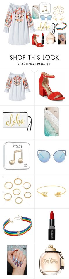 """""""summer on mu own"""" by megi-queen on Polyvore featuring Free People, Sam Edelman, Gray Malin, Matthew Williamson, Lord & Taylor, INC International Concepts and Smashbox"""