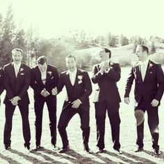 Henry's brothers wedding. This is such a fabulous picture.