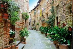 Lucignano is a quaint tuscan village. There are a lot of quaint villages in Tuscany, Lucignano is one of them, one of the most quaint (this is my opinion). Photography Lessons, Toscana, Tours, Architecture, Street, World, Building, Nature, Image