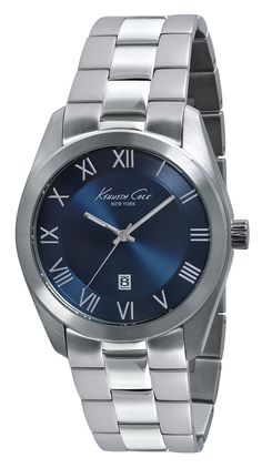 IKC9229 | 1,698 kr UPC: 020571100060 STAINLESS STEEL ROUND CASE, BLUE MARINE DIAL WITH SILVER ROMAN NUMERAL MARKERS, MINERAL GLASS CRYSTAL, THREE HAND MOVEMENT WITH DATE, STAINLESS STEEL BRACELET WITH TWO BUTTON FOLD OVER CLASP. 44MM CASE 3 ATM Hitta butiker på www.swgroup.se