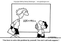 Science Cartoons | Math and Science Cartoons | Randy Glasbergen - Todays Cartoon