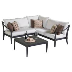 Astoria 4 Piece Seating Group with Cushion