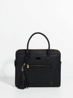 Almodovar Briefcase, Black, hi-res
